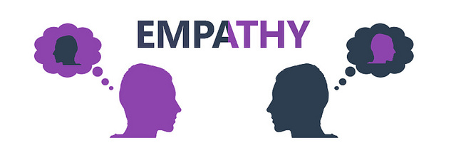 Empathy - thinking of the other.