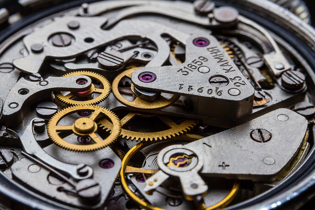 Rational watch movement