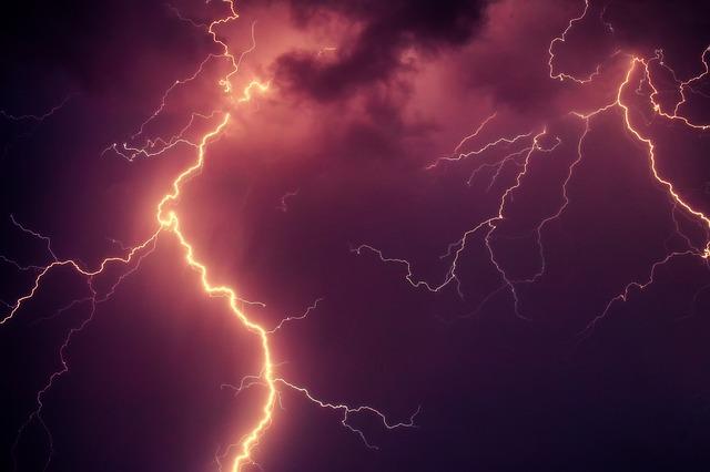 lightning powerful